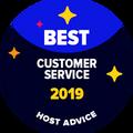 最佳客戶支援徽章是給予那些獲我們的編輯匿名測試電子郵件和電話支援並被證明服務非常棒的公司