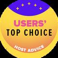 授予獲得最高用戶評分的10家網絡託管公司。